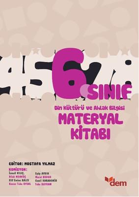 6. Sınıf Din Kültürü ve Ahlak Bilgisi Materyal Kitabı