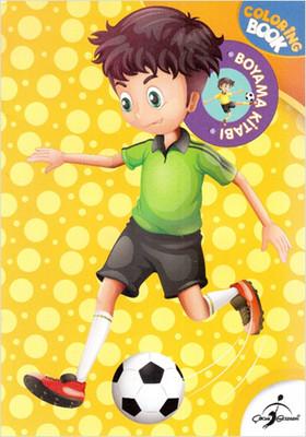 Futbolcu Çocuk Boyama Kitabı