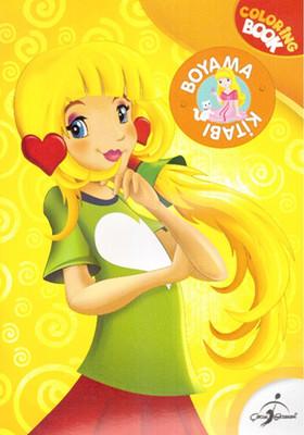 Sarışın Kız Boyama Kitabı