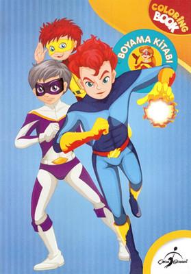 Süper Kahramanlar Boyama Kitabı