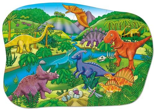 Orchard Big Dinosaurs 50 Parça Çocuk Puzzle