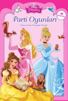 Disney Prenses Parti Oyunları Çıkartmalı Faaliyet Kitabı