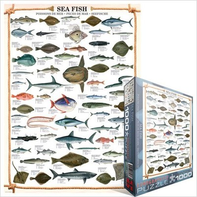 Eurographics Puzzle 1000 parça Sea Fish 6000-0313