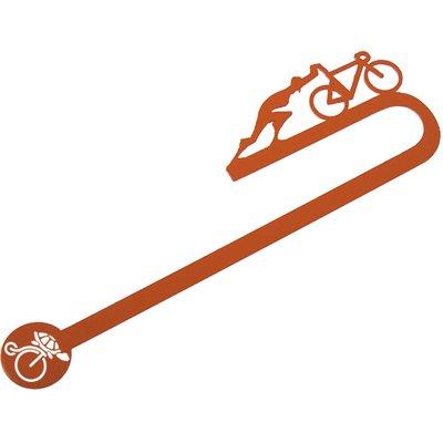 Tosbaa Sisifos'un Bisikleti Kitap Ayraci Turuncu