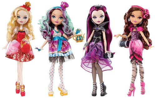 Ever After High EAH Ana Karakterler CFB14