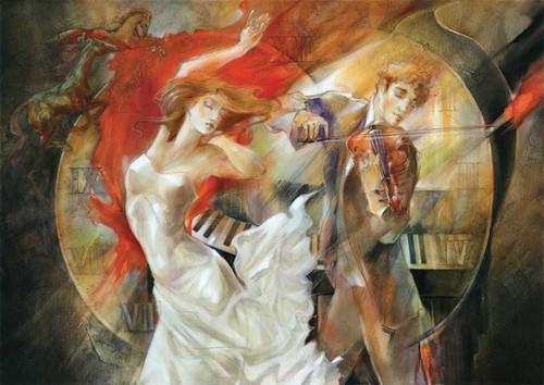 Art Puzzle Sonsuz Ask-Timeless-Lena 4633 1500 Lük
