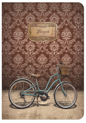 Notelook Retro Bicycle Multi