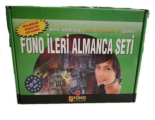 Fono İleri Almanca Seti - 12 Kitap + 2 CD