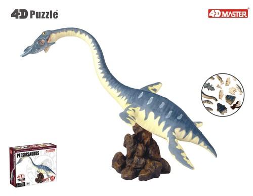 4D Master 3D Mini Puzzle Plesiosaurus YO.101