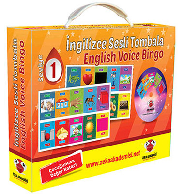 İngilizce Sesli Tombala 1 - English Voice Bingo