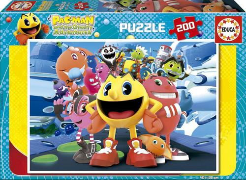 Educa Puzzle Çocuk 200 Packman 16161 Karton