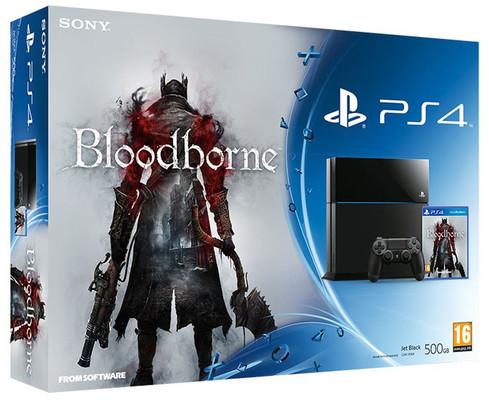 Sony PS4 500GB + Bloodborne