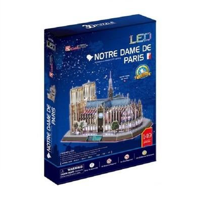Neco Notre Dame Kilisesi - Fransa(Led Isikli Seri) L173H