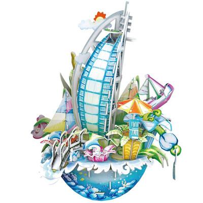 Neco Dubai Sehir Kompozisyonu Oc3202