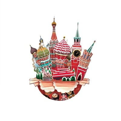 Neco Moscow Sehir Kompozisyonu Oc3206