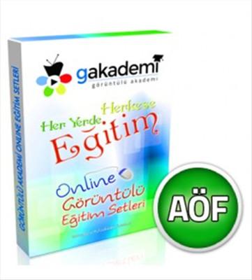 Pratik AÖF Genel Muhasebe 1 Online Görüntülü Eğitim Seti