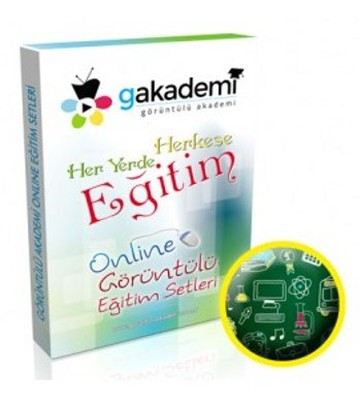 8. Sınıf Matematik Online Görüntülü Eğitim Seti
