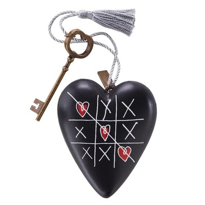 Art Heart Tic Tac Toe
