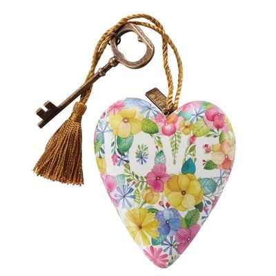 Art Heart Floral Love