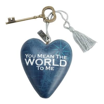 Art Heart World To Me