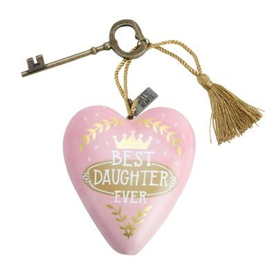 Art Heart Best Daughter