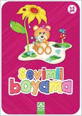 Sevimli Boyama - Pembe