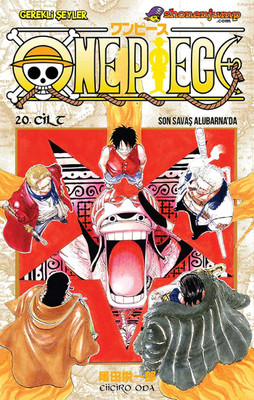 One Piece 20 - Son Savaş Alubarna'da
