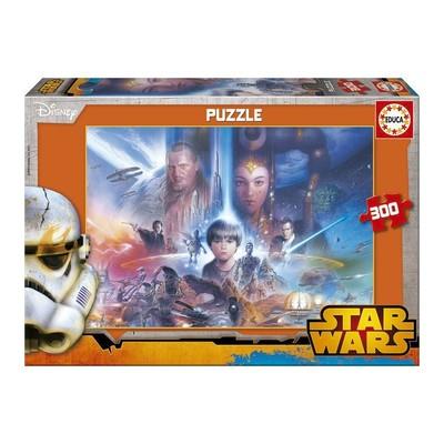 Educa Puzzle Çocuk 300 Star Wars 16166 Karton