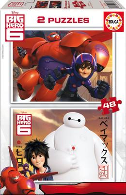Educa-Puz.2X48 Big Hero 6 16336