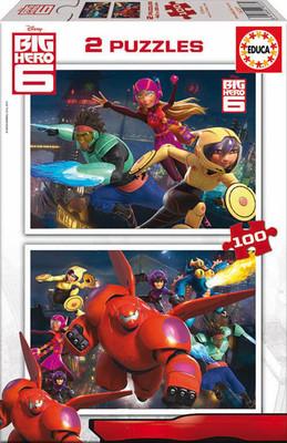 Educa-Puz.2X100 Big Hero 6 16337
