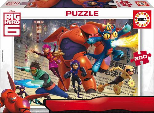 Educa Puzzle Çocuk 200 Big Hero 6 16338 Karton