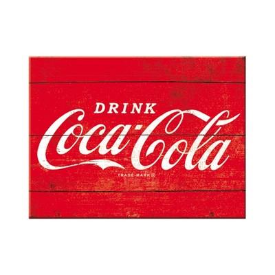 Nostalgic Art Coca-Cola Logo Red Magnet 6x8 cm 14320