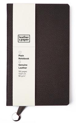 Leather & Paper Kahve Deri Defter 13x21