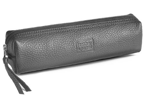 Leather & Paper Gri Kalem Kutusu