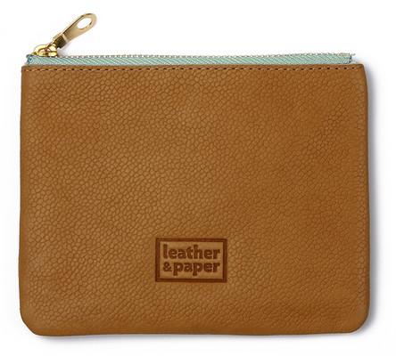 Leather & Paper Taba Deri Mini Çanta