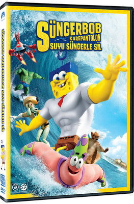 Spongebob Movie Sponge Out Of Water - Süngerbob Karepantolon: Suyu Süngerle Sil