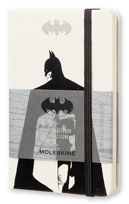 Moleskine Batman Sert Kpk Deft.Beyaz Çizg.Cep Boy  LEBA01MM710