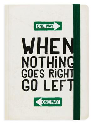 Legami Photo Notebook - Go Left Not Defteri