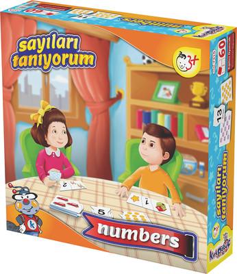 Kırkpabuç 7315 Sayıları Tanıyorum Kutu Oyunu