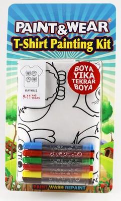 Paint Wear Baykuş T-Shırt Boyama Seti 9 -11