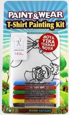 Paint Wear Palyaço T-Shırt Boyama Seti 7-8
