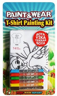 Paint Wear Peri T-Shırt Boyama Seti 7-8