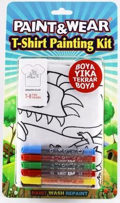 Paint Wear Dinazor T-Shırt Boyama Seti 7-8