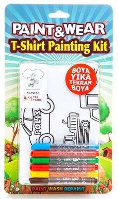 Paint Wear Araçlar T-Shırt Boyama Seti 9-11