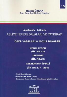 Özel Yasalarla İlgili Davalar - 15. Cilt