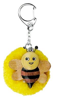 Nev-Ecolinea Pom Pom Anahtarlik Bee