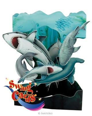 Santoro Gc-Swing Cards-Sharks Sc140
