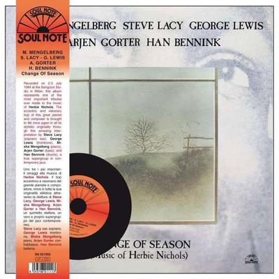 Change Of Season (Music Of Herbie Nichols) (LP+CD)