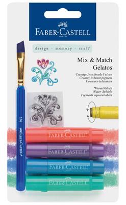Faber-Castell Gelato Mum Boya Metal Renkler 4 Renk 5180121806