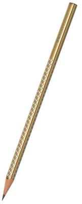 Faber-Castell Parlak Renkler Metalik Altın Kurşun Kalem